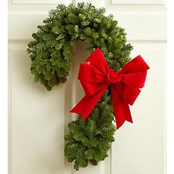 Celebration Candy Cane Wreath