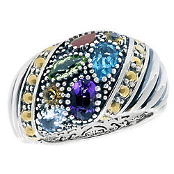 Balissima Multi Gemstone Ring