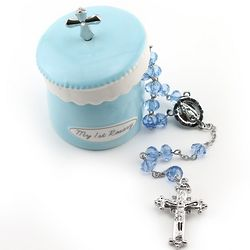 My First Rosary with BlueTrinket Box