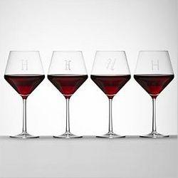 Tritan Burgundy Stemware Glass Set