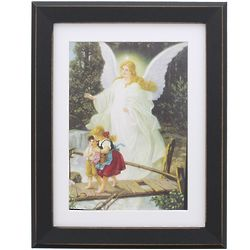 Guardian Angel Painting Framed Print