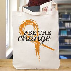 Be the Change Awareness Tote Bag