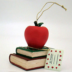 Personalized Best Teacher Ornament
