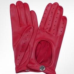 Cabretta Ladies Gloves in Red