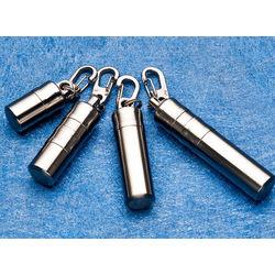 Engravable Titanium Capsule