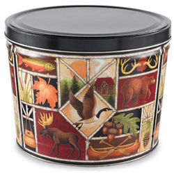 Large Outdoor Fun Gourmet Treats Bucket