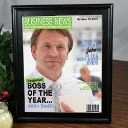 Boss of the Year Magazine Cover
