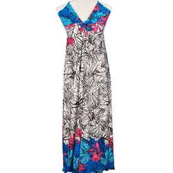 Tropical Flora Maxi Dress