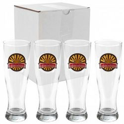 Shameless Pilsner Glasses