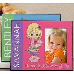 Precious Moments Personalized Birthday Frame