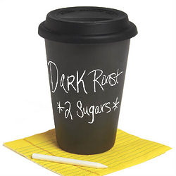 Thermal Chalkboard Coffee Cup