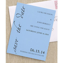 Custom Personalized Save The Date Cards