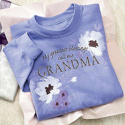 Grandma's My Greatest Blessings Sweatshirt