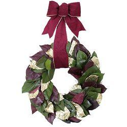 Royal Velvet Preserved Salal Wreath