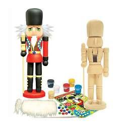 Paint-Your-Own Nutcracker Kit