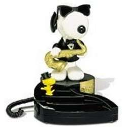 Peanuts' Snoopy Animated Dancing Desk Phone