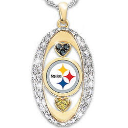 For the Love of the Game Pittsburgh Steelers Necklace