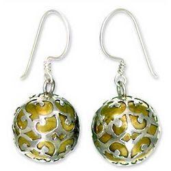 Global Chic Sterling Silver Dangle Earrings