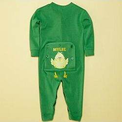 Personalized Toddler Chick Long Johns
