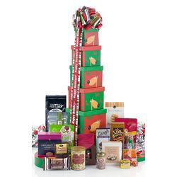 Reindeers Rejoice Gift Tower