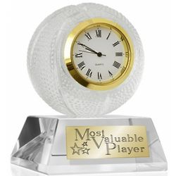 MVP Crystal Basketball Clock