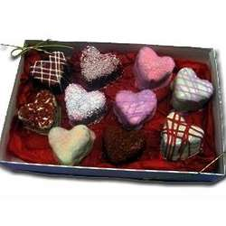 Heart Brownie Bites Box