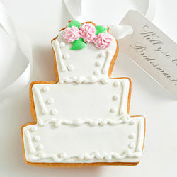 Edible Cake Cookie Card for Bridal Attendants