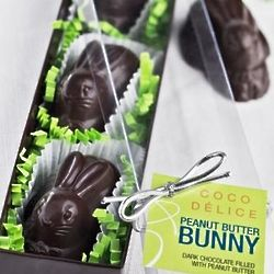 Peanut Butter Chocolate Bunnies