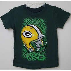 Green Bay Packers Helmet Pre-Schooler T-Shirt