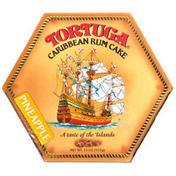 Tortuga Pineapple Rum Cake 33oz