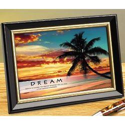 Dream Beach Framed Desktop Print