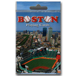 Boston Baseball Playing Cards