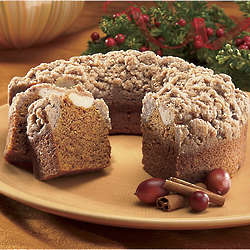 Postpaid Pumpkin Coffee Cake