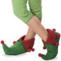 Child's Wool Felt Elf Shoes