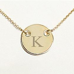 Personalized Medallion Necklace