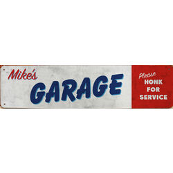 Personalized Honk for Service Garage Sign