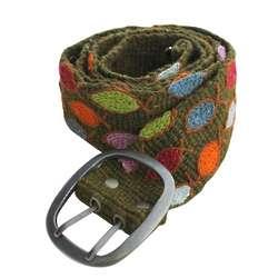 Women's Hand Crafted Wool Ichthys Belt