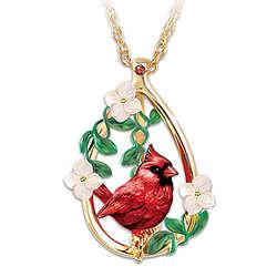 Cardinal Beauty Garnet Gemstone Pendant