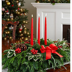 "28"" Deck the Halls Centerpiece"