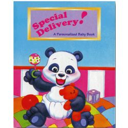 Personalized Special Delivery Baby Book
