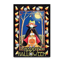 Mary Engelbreit Happy Halloween Decorative Flag