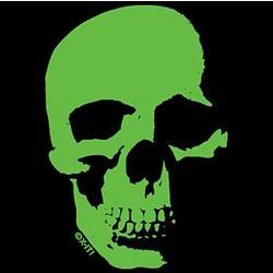 Neon Green Skull T-Shirt