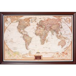 Pin Your Journeys Personalized World Map