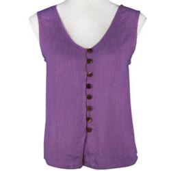 Button Up Boho Vest