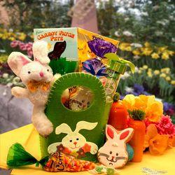 Bunny Hop Easter Gift Basket for Children