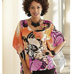 Misses Butterfly Wing Caftan