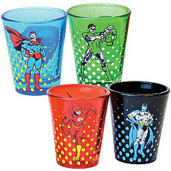 DC Comics Shot Glasses