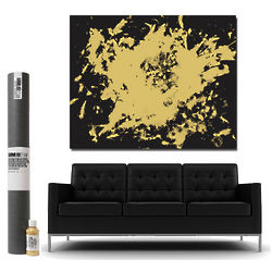 Black and Gold Love is Art Kit