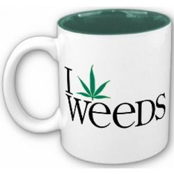 I Pot Leaf Weeds Mug