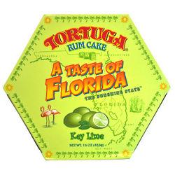Tortuga Florida Key Lime Rum Cake